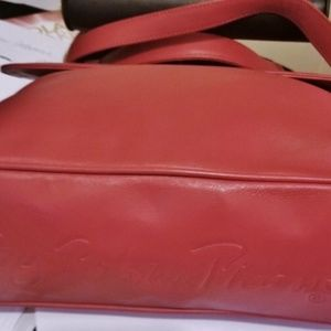 Paloma Picasso Bags - NWT Paloma Picasso Italy Lipstick Red Leather Bag